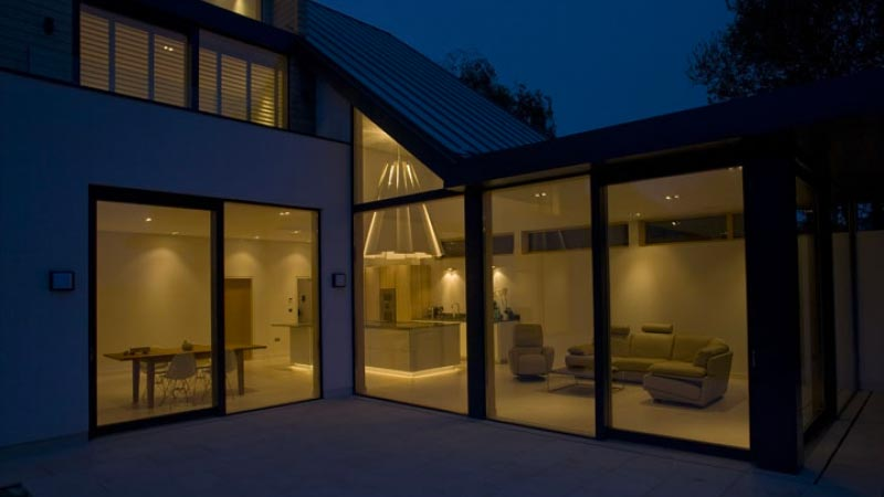 Electrical smart home installation service hampshire lighting exterior - Havi Electrical