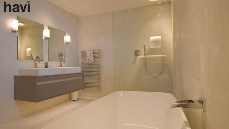 Electrical smart home installation service hampshire the bathroom - Havi Electrical
