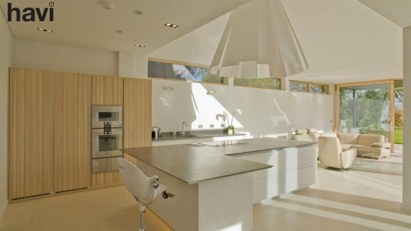 Electrical smart home installation service hampshire the kitchen - Havi Electrical
