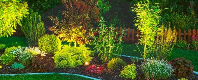 Garden Lighting Design - Havi Electrics