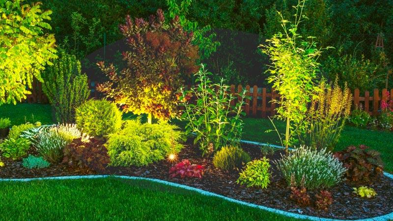 Garden Lighting Design - Havi Electrics