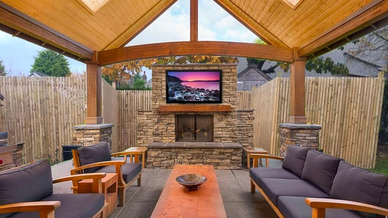 Outdoor AV Entertainment System Installation & Support Services - Havi Electrical